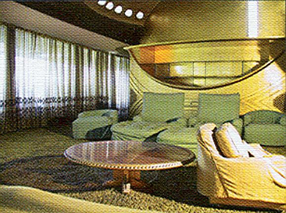Frank Lloyd Wright Foundation home in Karaj, Iran